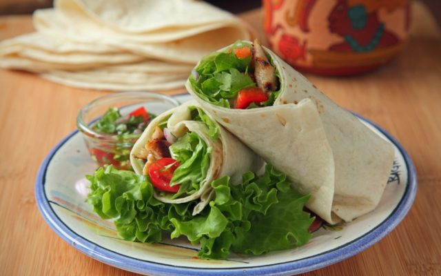 Tortilla Wraps 8″