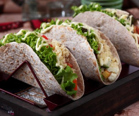 Tortilla Wraps Wholemeal 8″
