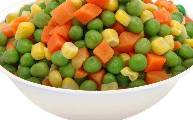 Frozen Mixed Vegetables 250g